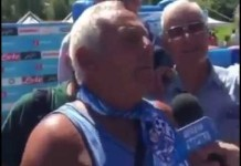 Carmine, tifoso napoletano mentre parla di Higuain, fonte Youtube