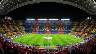 Camp Nou, stadio del Barcellona, fonte By Ayman.antar7 - Own work, CC BY-SA 4.0, https://commons.wikimedia.org/w/index.php?curid=45317270