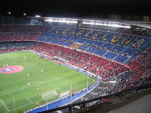 Camp Nou, stadio del Barcellona, fonte Flickr