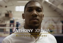 Anthony Joshua - screenshot da vimeo