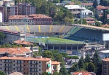 Stadio Atleti Azzurri d'Italia, Atalanta, fonte By Luigi Chiesa - Own work, CC BY-SA 3.0, https://commons.wikimedia.org/w/index.php?curid=4678207