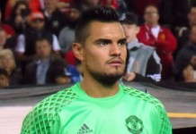 Sergio Romero fonte foto: Di Ardfern - Taken by Ardfern→Questo file è stato ricavato da un'altra immagine: Manchester United v Zorya Luhansk, September 2016 (08).JPG, CC BY-SA 4.0, https://commons.wikimedia.org/w/index.php?curid=52629583