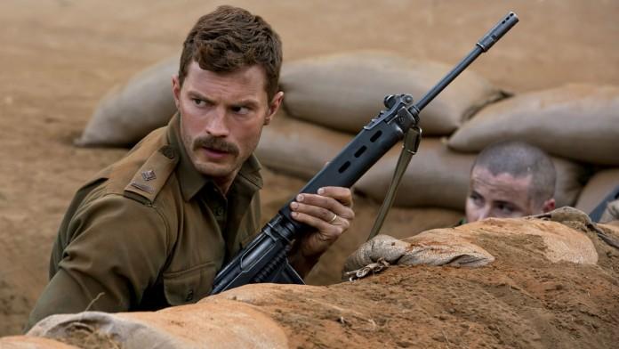 Jamie Dornan, in La battaglia di Jadotville, fonte Netfilx