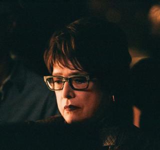 Kathy Bates sul set, font Xavier Dolan's Instagram profile