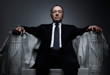 Kevin Spacey in House of Cards, fonte Netflix