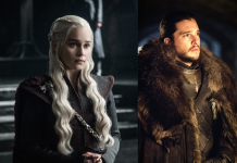 Daenerys Targaryen e Jon Snow in Game of Thrones, fonte www.inverse.com