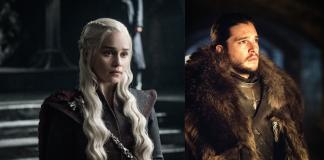 Daenerys Targaryen e Jon Snow in Game of Thrones, fonte www.inverse.com