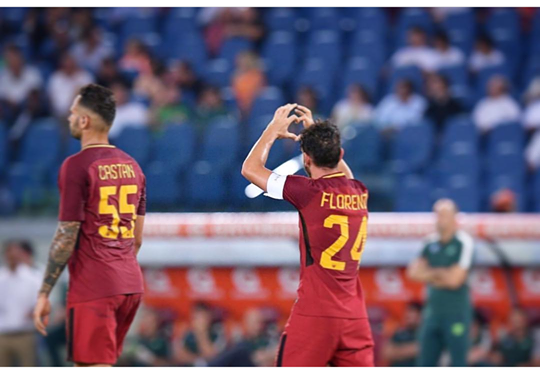 Alessandro Florenzi sul proprio profilo Instagram