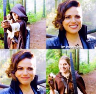 Regina e Robin, Fonte Foto: Screenshot