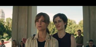 Alicia Vikander e Eva Green in Euphoria, fonte screenshot youtube