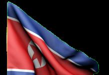Bandiera Corea del Nord, fonte Pixabay