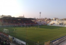 Stadio Menti, Vicenza, fonte By Maori19 - Own work, CC BY-SA 3.0, https://commons.wikimedia.org/w/index.php?curid=23910278