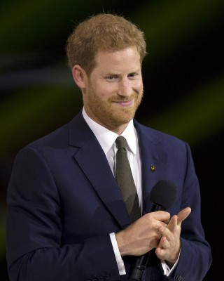 United Kingdom's Prince Harry speaks during the opening ceremonies of the the2017 Invictus Games in Toronto, Canada Sept. 23, 2017. (DoD photo by EJ Hersom)