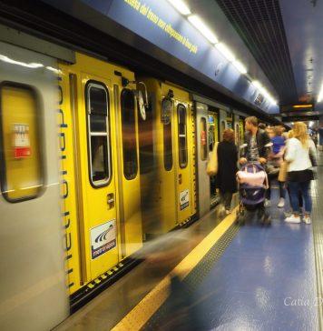 Metropolitana Napoli, fonte Flickr