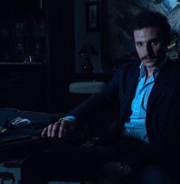 """Set di """"Gomorra 4"""", regia di Marco D'Amore. Nella foto Luciano Giugliano (Mickey Levante). Foto di Gianni Fiorito"""