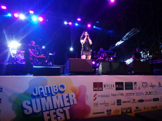 Giusy Ferreri sul palco