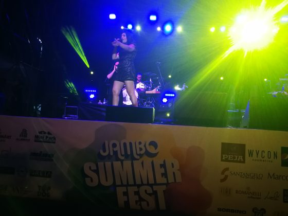 Giusy Ferreri al Jambo Summer Fest