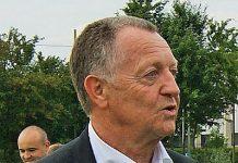 Jean Michel Aulas, presidente del Lione, fonte Wikipedia Commons