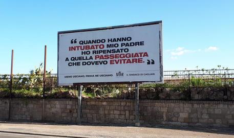 Manifesti presenti nella città di Cagliari