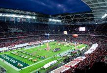"""Uno degli stadi di Football Americano della NFL, Foto Google """"Licenza Creative Commons"""""""