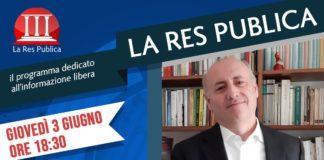 Antonio Mattone, autore de 'La vendetta del boss. L'omicidio di Giuseppe Salvia', ospite a 'La Res Publica'